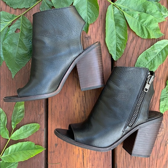 "Steve Madden ""Terraa"" Leather Ankle Boots"